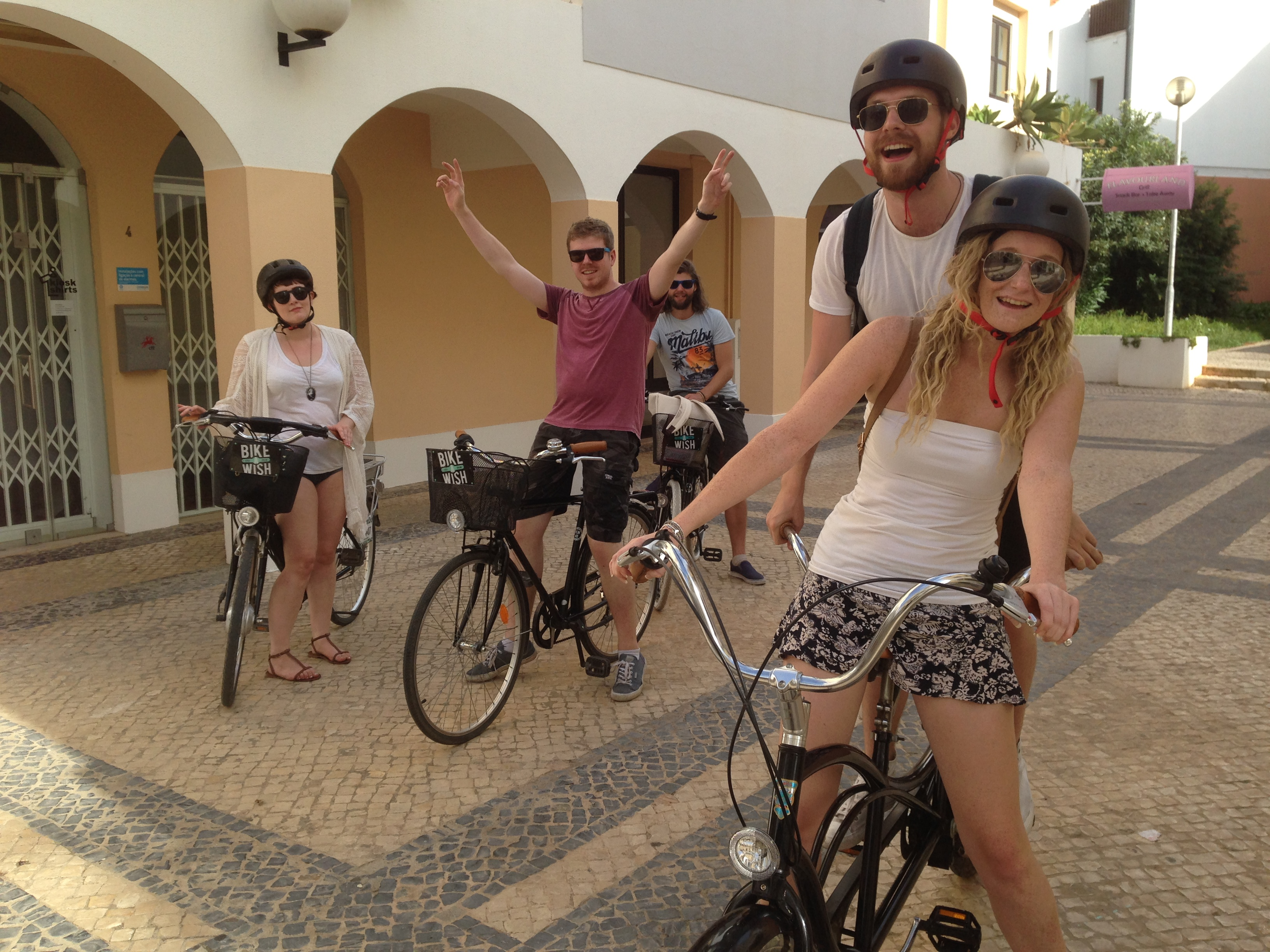 Rent A Bike At Bike A Wish Bike Rental Tours In Quarteira